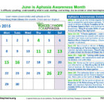 June is Aphasia Awareness Month