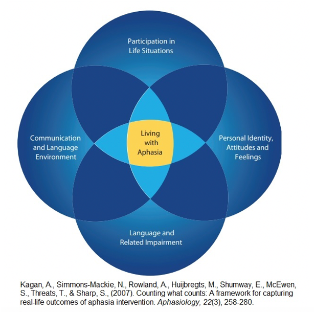 The AFROM model with the individual at the center of all decisions